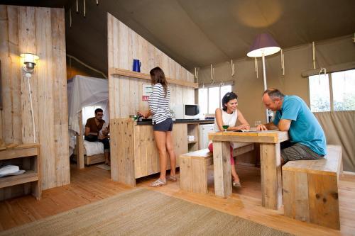Tente de luxe en Charente Maritime