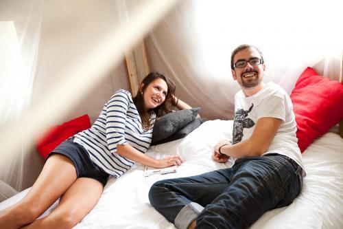 Vacances en amoureux dans une tente de luxe